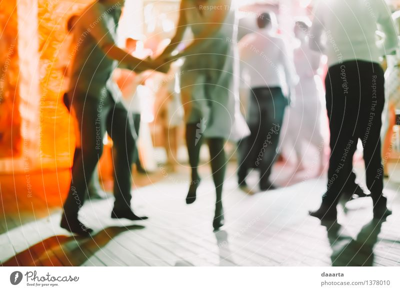 dance all night Joy Life Emotions Style Playing Feasts & Celebrations Lifestyle Moody Party Friendship Jump Glittering Wild Leisure and hobbies Elegant Music