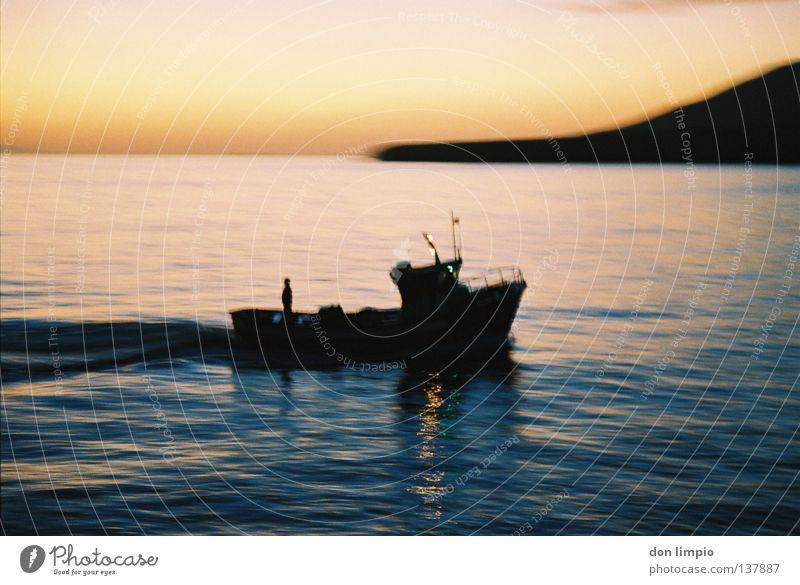 a day comes to an end Watercraft Fuerteventura Blur Analog Navigation pescador Atlantic morro Movement