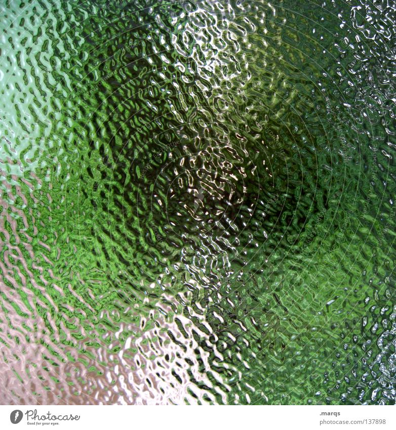 Green Summer Colour Art Glass Background picture Painting (action, work) Obscure Painting and drawing (object) Broken Oil Patch Window pane Surrealism Muddled