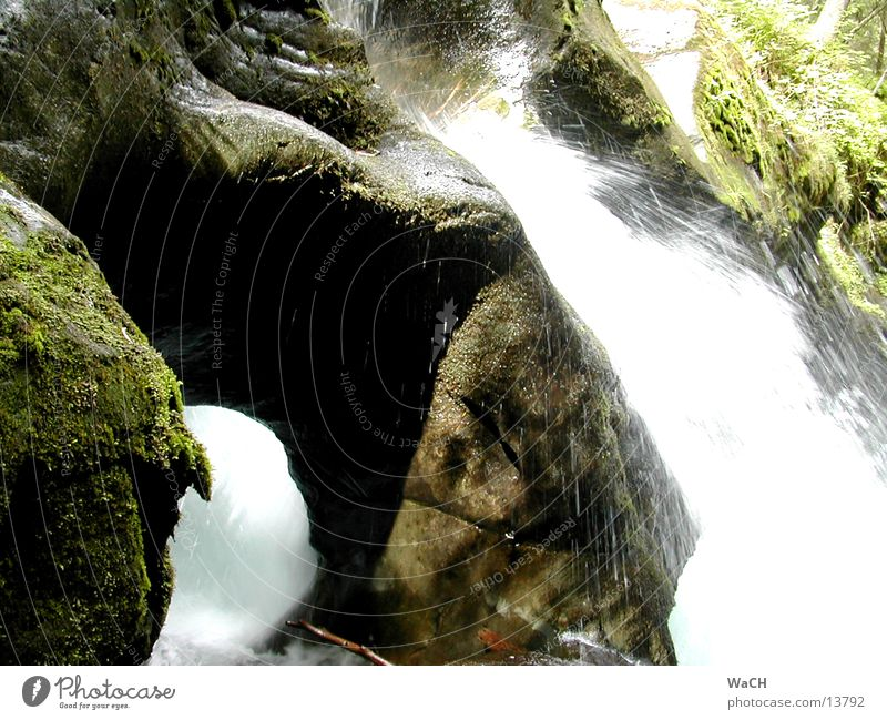 Natural monument Schößwendklamm 2 Monument Austria Hydroelectric  power plant Natural phenomenon Canyon Cliff Surf Stone Resist To feed Mountain River Brook