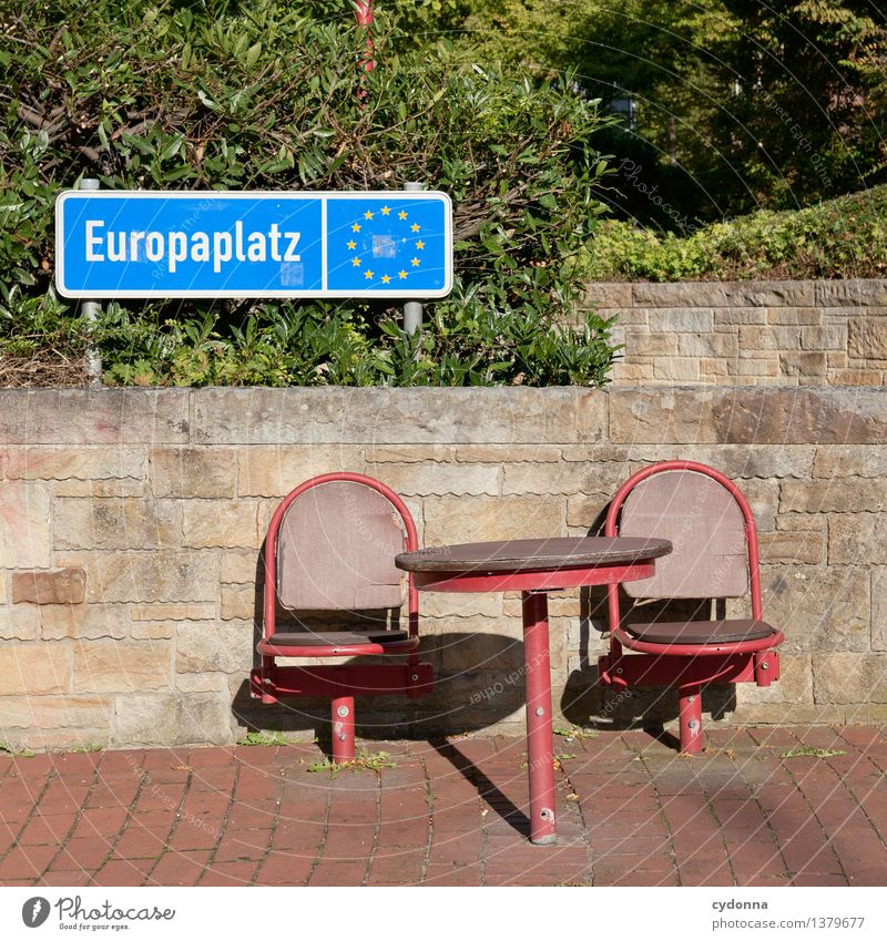 Wall (building) To talk Wall (barrier) Freedom Park Table Future Places Europe Planning Help Chair Attachment Education Barrier Advice