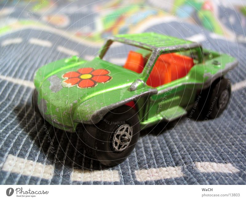 Green Vacation & Travel Summer Beach Flower Playing Car Transport Retro Toys Motor vehicle Collection Symbols and metaphors Means of transport Hippie Motorsports