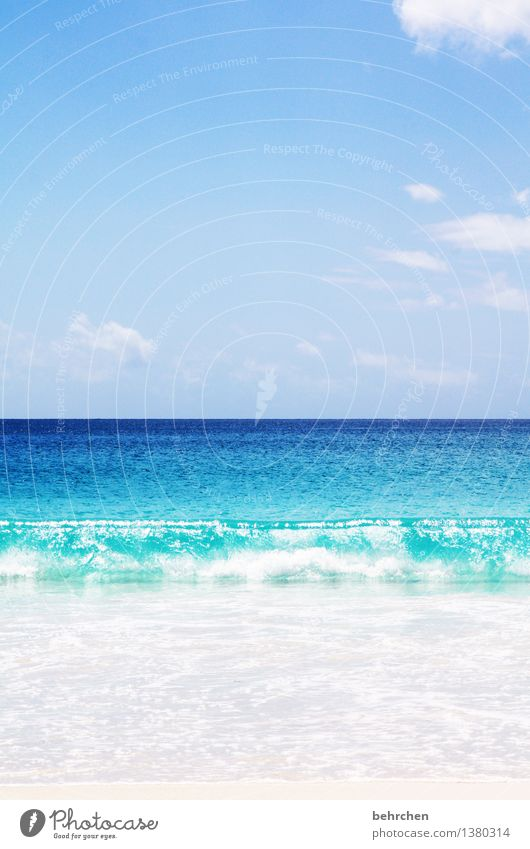 Sky Nature Vacation & Travel Blue Beautiful Summer Water Ocean Landscape Clouds Far-off places Beach Coast Exceptional Freedom Swimming & Bathing