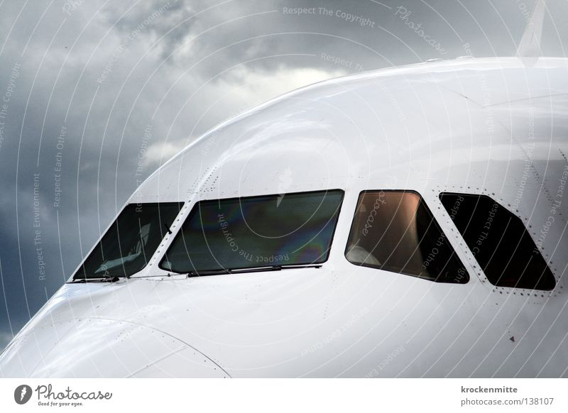 White Blue Vacation & Travel Clouds Window Rain Wait Glittering Airplane Flying Beginning Aviation Logistics Airport Departure Pilot