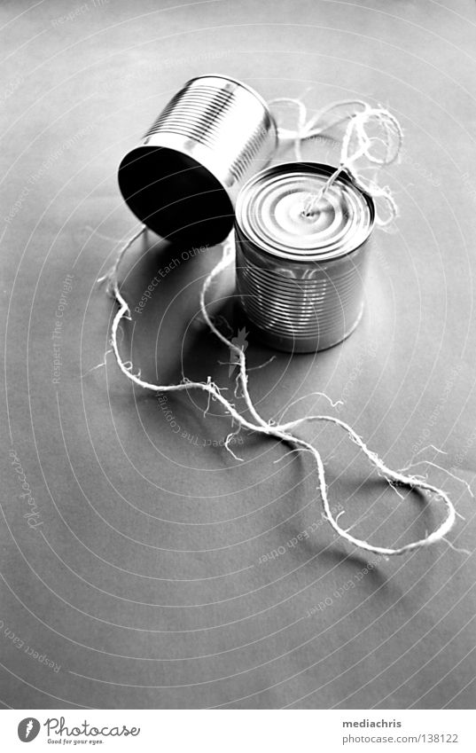 Information Technology Telecommunications Telephone Cable Net Black & white photo Toys Media Computer network Tin