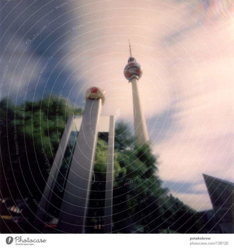 Berlin Architecture Frankfurt Middle Berlin TV Tower Alexanderplatz World Cup 2006 Deutsche Telekom