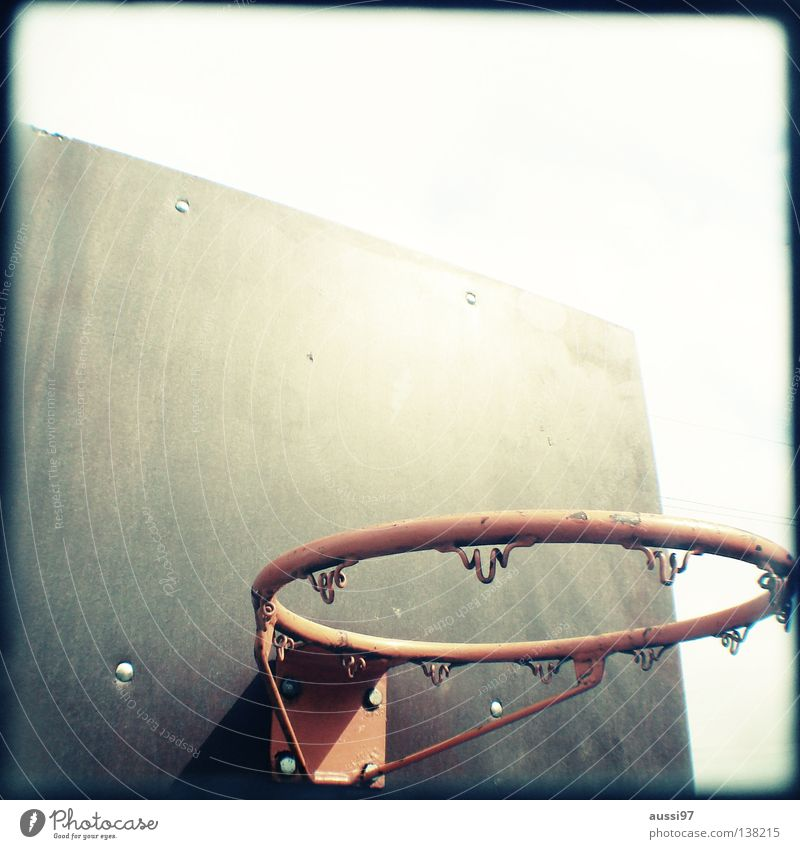 Dunkin' donuts Basketball basket Sports Playground Analog Viewfinder Bordered Frame Ball sports Air aussi97 corbel unnetted Net the missing net play ball