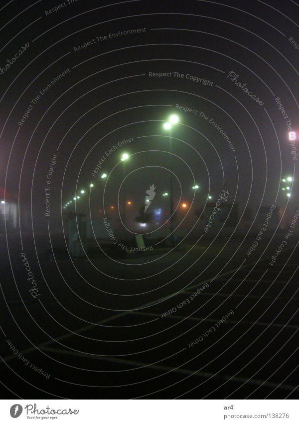 City Street Lamp Dark Night Lantern Traffic infrastructure Parking lot Night shot