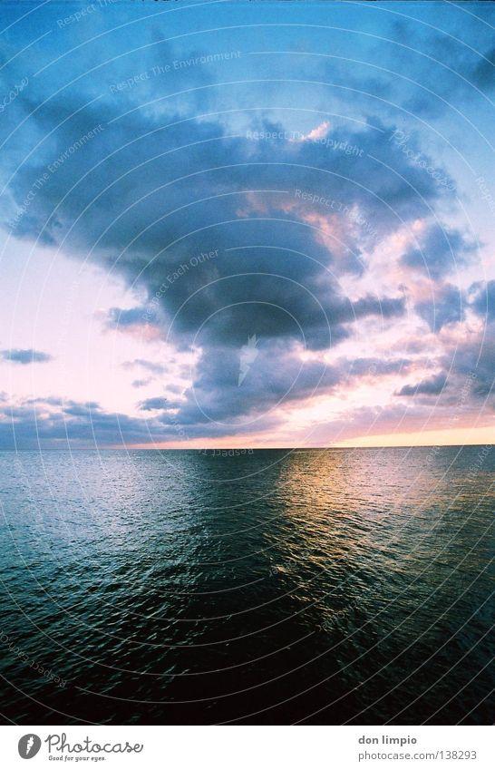 Water Ocean Clouds Waves Wind Horizon Analog Float in the water