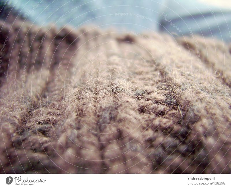 downhill pully Wool Sweater Cloth Ecological Fine Material Clothing Downward Shadow Structures and shapes Nature Rough