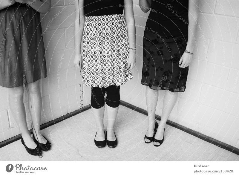 Footwear Dress Film industry Make-up High heels Black & white photo Media