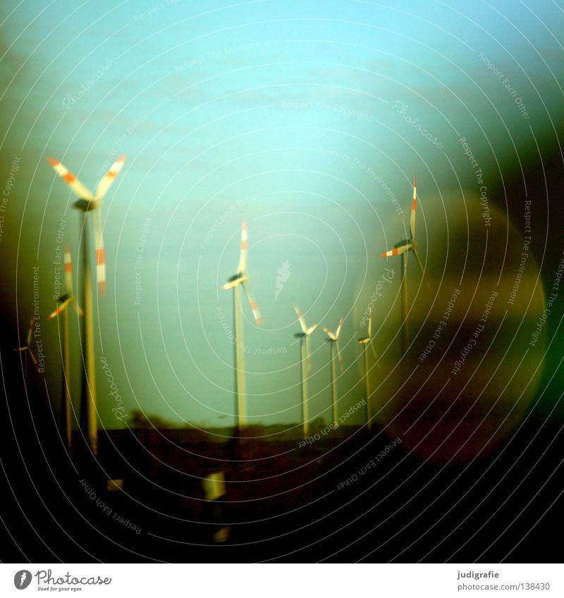 freeway Driving In transit Highway Colour Transport Wind energy plant Energy industry Sky Dynamics Movement Car reflection Street