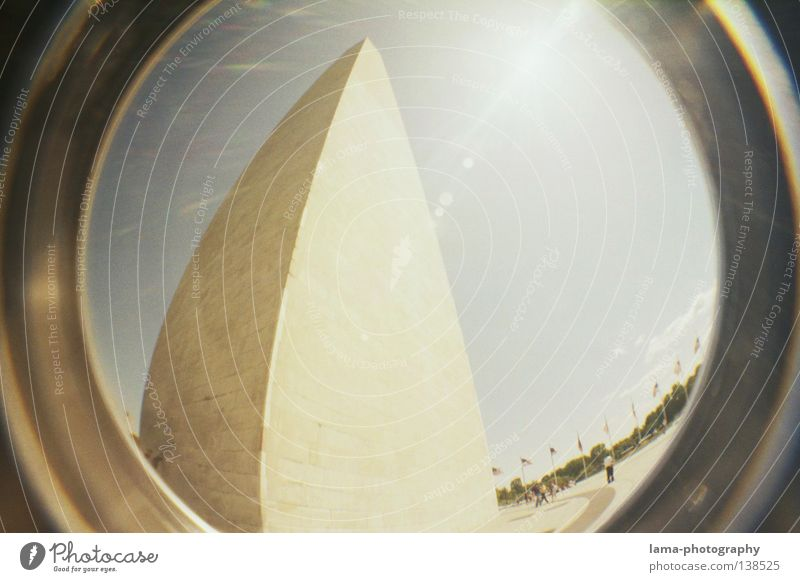 Sky Sun Art Large High-rise Tall Circle Might USA Round Tower Desert Sphere Analog Statue Americas