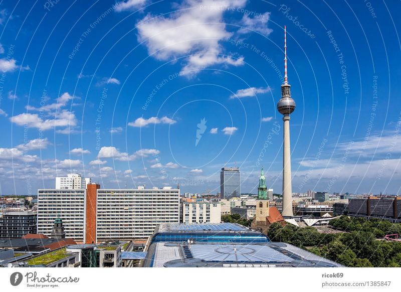 Berlin Vacation & Travel Tourism House (Residential Structure) Clouds Tree Town Capital city Downtown Manmade structures Building Architecture
