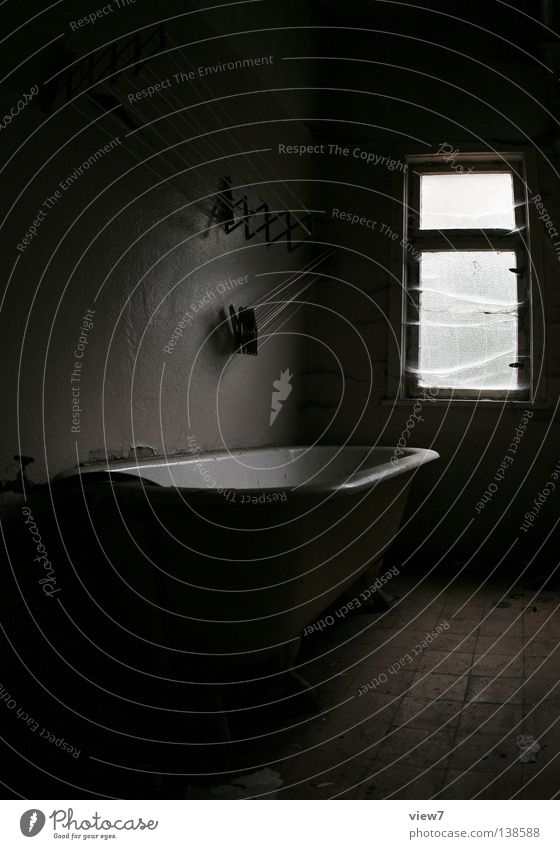 Old White Black Dark Window Wood Sadness Moody Room Background picture Time Gloomy Bathroom Floor covering Clean Derelict