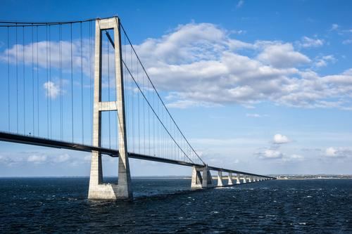 Nature Vacation & Travel Landscape Clouds Environment Architecture Lanes & trails Coast Tourism Transport Modern Bridge Logistics Baltic Sea Manmade structures