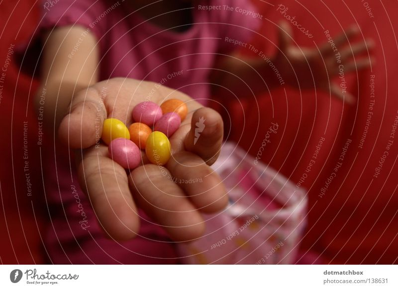 Want some? Hand Sweet Fingers Joy Candy give chocolate Pearl Eating Chocolate buttons