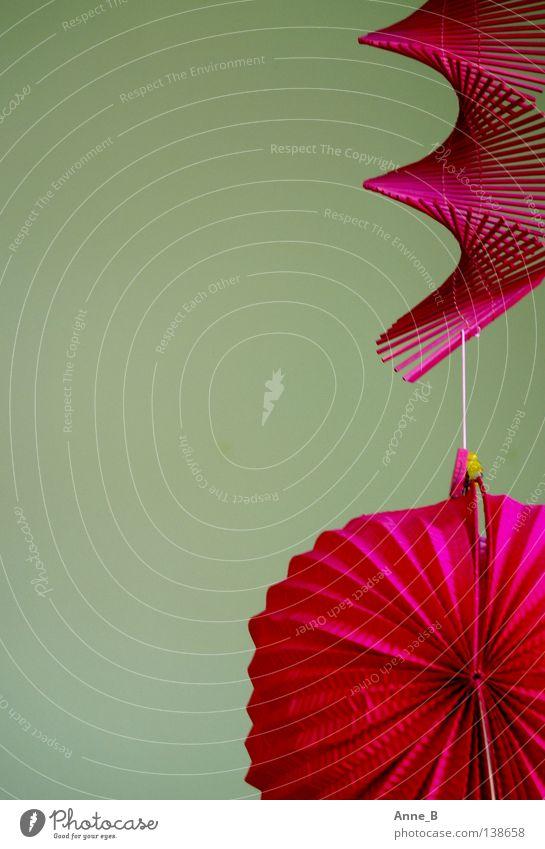 Green Feasts & Celebrations Pink Design Paper Near Simple Kitsch Violet Decoration Lantern Hang Hip & trendy
