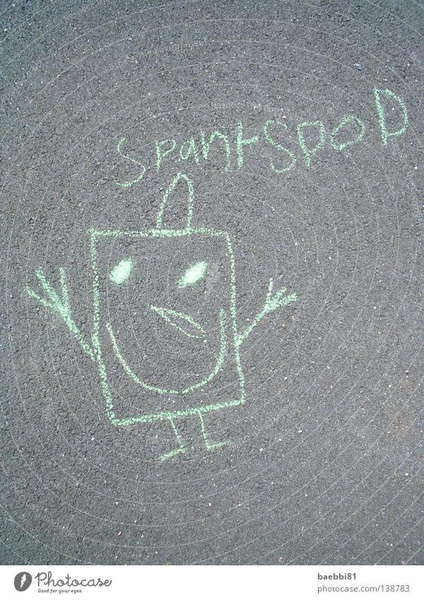 Television Asphalt Painting (action, work) Comic Playground Chalk Media Sponge