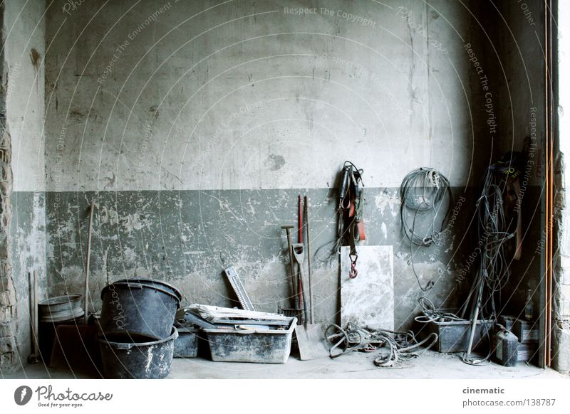 Hall Of Fame Wall (building) Bucket Tool Industry Warehouse encounters Old Morbid Loneliness Derelict