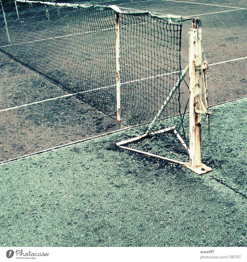 Ivan Lendl Memorial Court Tennis Leisure and hobbies Tennis ball Baseline Decompose Derelict Tennis rack Sideline Net Ball sports big tennis very big tennis