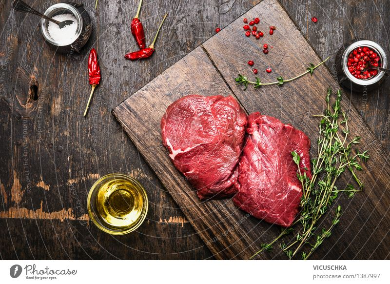 Image result for a dinner table with healthy meat