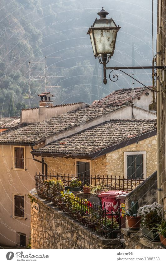 Small village in Italy Landscape Village Small Town Old town Deserted House (Residential Structure) Church Places Manmade structures Architecture Wall (barrier)