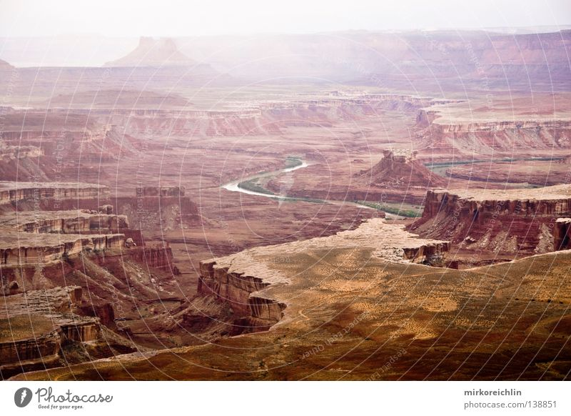 Canyonlands National Park Arches National Park Wilderness Wide angle Painting and drawing (object) Native Americans Americas River Brook Vacation & Travel
