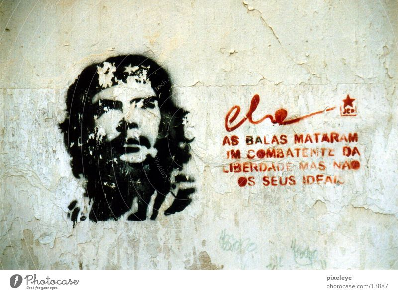 Che Cuba Mural painting Havana Human being che graffiti Reunification