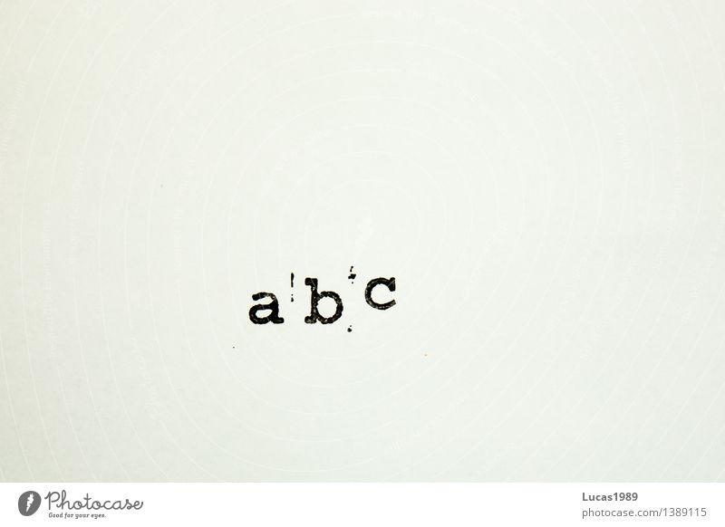 abc Parenting Education Kindergarten School Study Student Alphabetical Latin alphabet Letters (alphabet) Pistil Black White Reading Write Typewriter Characters