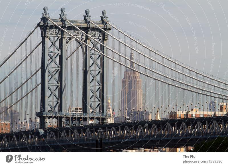 No sleep to Brooklyn Lifestyle Vacation & Travel Tourism Adventure Far-off places City trip Night life Business New York City Manhattan Manhattan Bridge