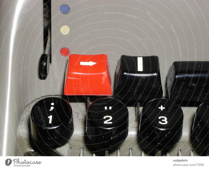 Olivetti 1 Typewriter Text Things Write