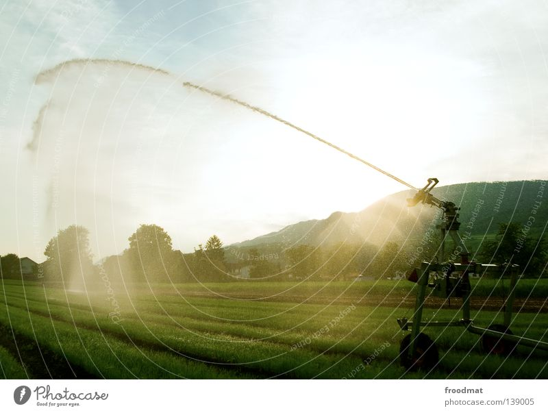 rainmaker Water pistol Inject Effervescent Summer Back-light Rifle Cannon Wet Refreshment Agriculture Irrigation Weapon Frozen Radiation Force Might Squander