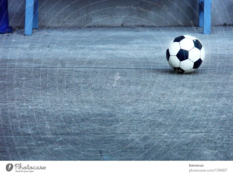 and it's still rolling... World Cup 2008 Gray Concrete Down-to-earth Circle Ball sports Sports Leisure and hobbies Strike Soccer EM football