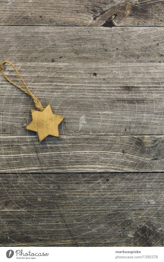 gold christmas star decoration Style Decoration Christmas & Advent Ornament Hip & trendy Retro Tradition Christmas present Christmas tree decorations Christmasy