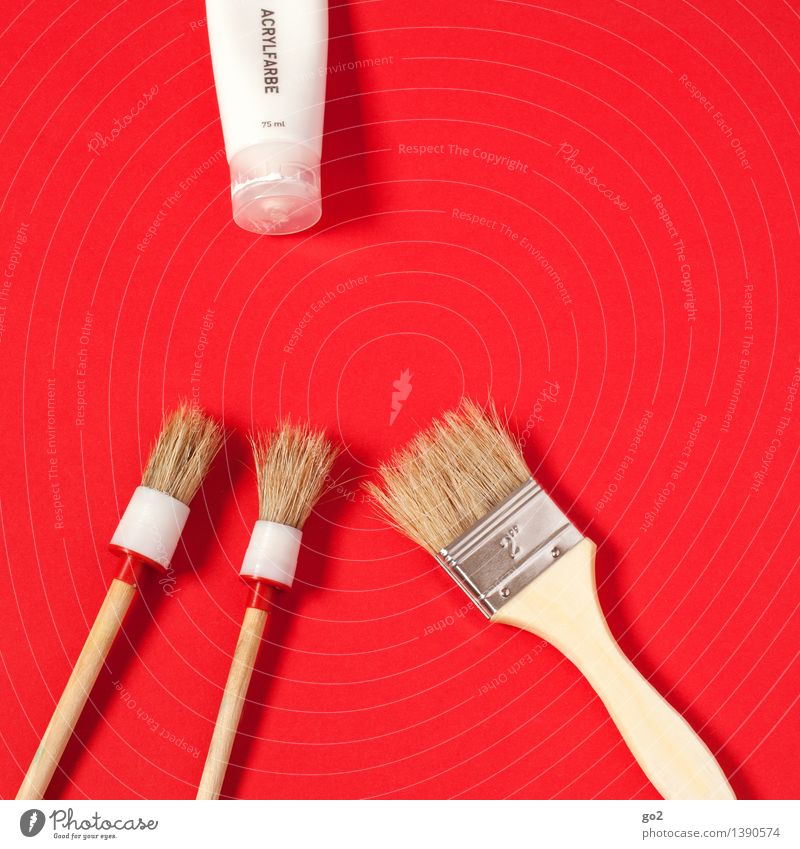 White Red Art Work and employment Design Leisure and hobbies Esthetic Creativity Idea Uniqueness Change Painting (action, work) Moving (to change residence) Inspiration Artist Painter