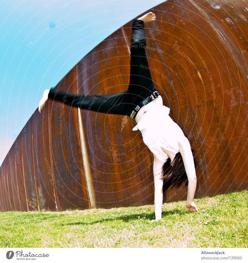 Woman Joy Berlin Capital city Take a photo Gymnastics Rock'n'Roll Rockabilly Track and Field Stunt Music