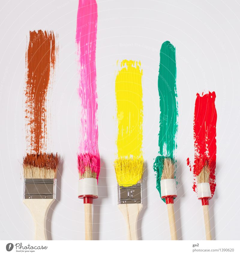 Green Colour Red Joy Yellow Art Brown Pink Work and employment Design Leisure and hobbies Decoration Happiness Esthetic Creativity Joie de vivre (Vitality)