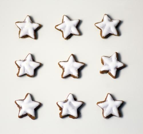 Christmas & Advent White Relaxation Eating Style Food Brown Bright Design Arrangement Modern Esthetic Nutrition Cooking & Baking Star (Symbol) Delicious