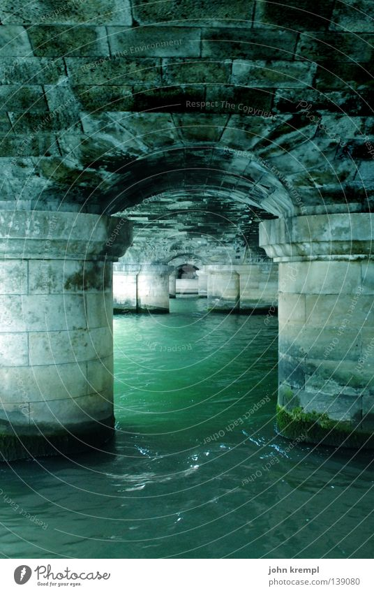 Water Old Green Stone Watercraft Bridge River Paris France Brook Column Seine Boating trip