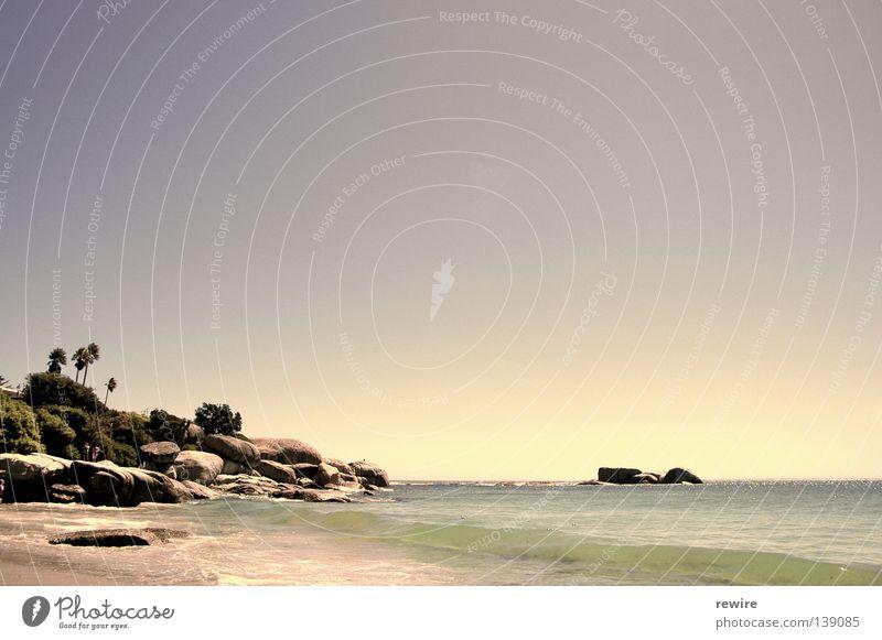 Ocean Summer Beach Waves Africa South Africa Cape Town