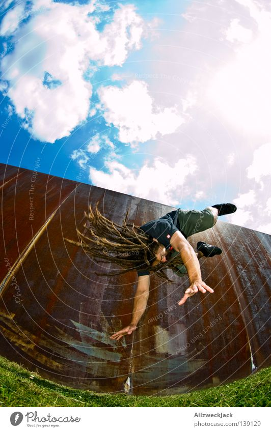 Joy Berlin Bird Capital city Coil Take a photo Dreadlocks Funsport Stunt Somersault