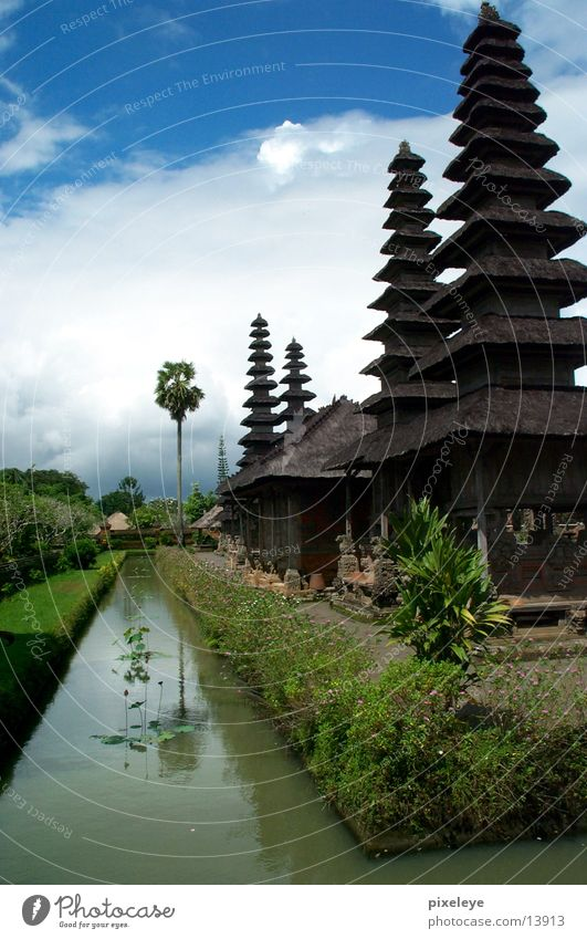 Sky Clouds Indonesia Temple Bali Los Angeles