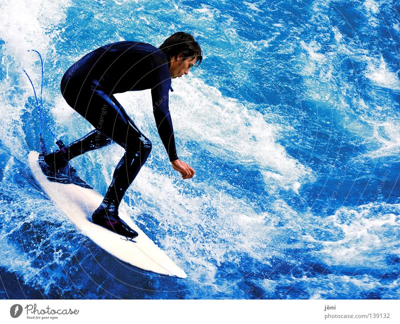 Man Nature Youth (Young adults) Water Blue Beautiful Sun Vacation & Travel Summer Joy Beach Ocean Colour Sports Freedom Wood