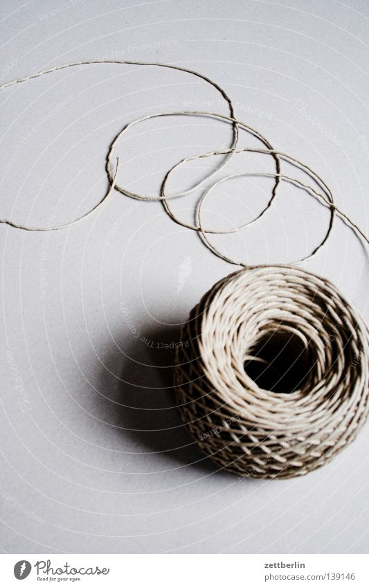 Communicate String Services Connection Craft (trade) Coil Maze Loop Cotton Bond Knot Attach Hemp Wound up Bind fast