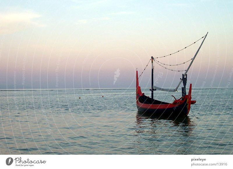 Fishing boat in Bali Watercraft Ocean