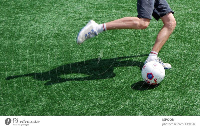 Green Sports Playing Movement Legs Feet Footwear Skin Soccer Ball Lawn Stockings Sneakers Musculature Knee Ball sports