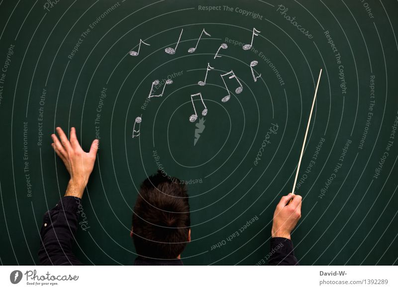 conductor Education School Study Blackboard Student Academic studies Craft (trade) Human being Masculine Young man Youth (Young adults) Man Adults Life 1 Art