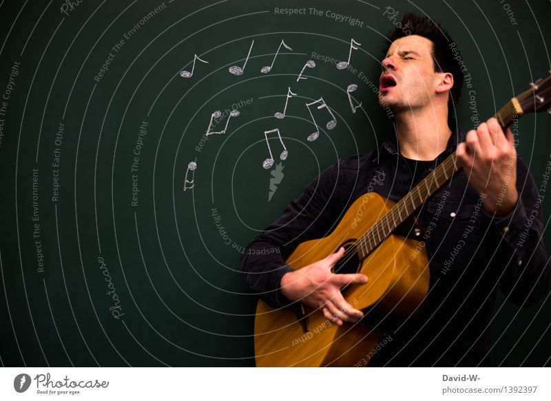 Musicians with body and soul Harmonious Leisure and hobbies Playing Night life Event Feasts & Celebrations School Study Success Masculine Man Adults Life 1