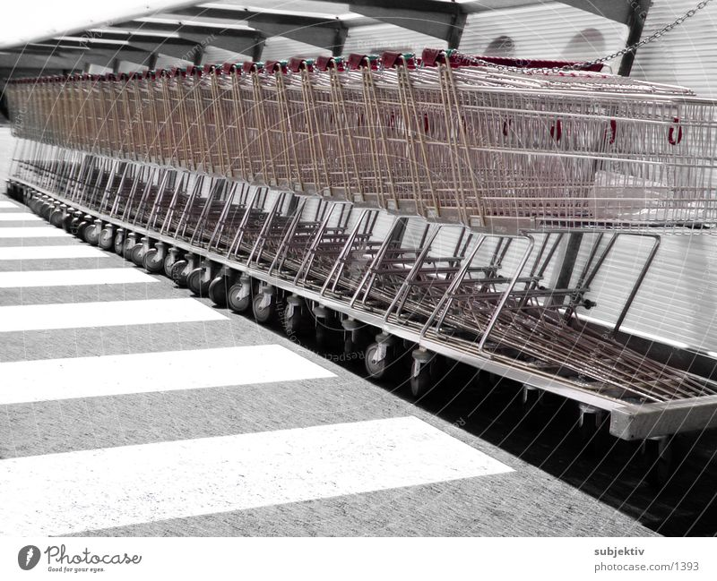 purchasing 1 Shopping Trolley Things Light Consumption